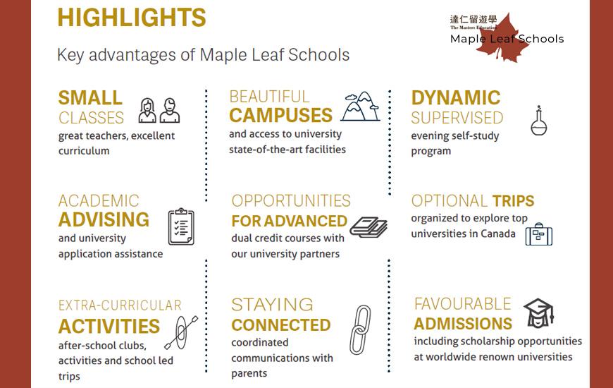 Maple Leaf Schools 加拿大楓葉國際學校